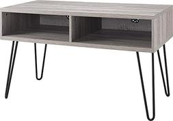 "Ameriwood Home Owen Retro TV Stand for TVs up to 42"", Weathe"