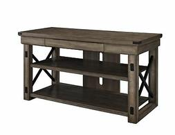 Ameriwood Home 1735096 Wildwood Wood Veneer TV Stand for TVs