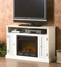 Southern Enterprises Antebellum Media Electric Fireplace 48""