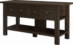 Apothecary Cherry TV Stand/Console Table for TVs up to 55