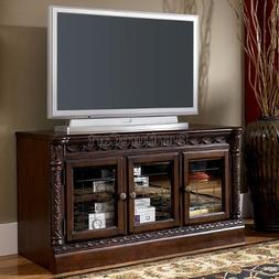 Ashley W553-31 North Shore Traditional Medium TV Stand