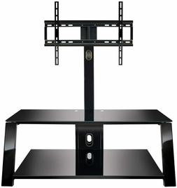 """Bell'O TP4444 Triple Play 44"""" TV Stand for TVs up to 55"""", Bl"""