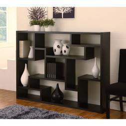 Black Bookcase/ Room Divider. This contemporary bookcase/boo