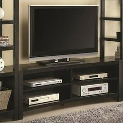 Coaster Cappuccino Inverted Curved Front TV Console