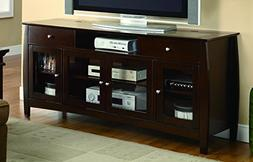 Coaster Home Furnishings 700693 Casual TV Console, Walnut