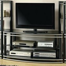 Coaster Home Furnishings 700722 Contemporary TV Console, Bla