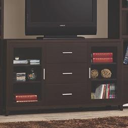 Coaster Home Furnishings 2-door TV Stand with 3 Storage Draw