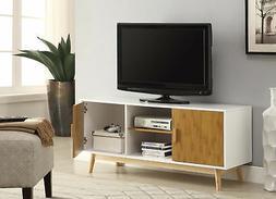 Convenience Concepts Designs2Go Oslo TV Stand, White