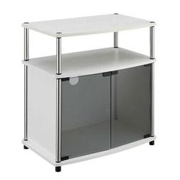 Convenience Concepts Designs2Go TV Stand with Cabinet for Fl