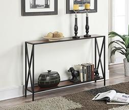 Convenience Concepts Tucson Collection Console Table, Black/