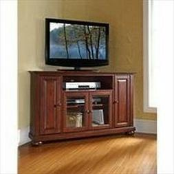 Crosley Furniture Alexandria 48-Inch Corner TV Stand, Vintag