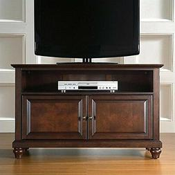Crosley Furniture Cambridge 42-inch TV Stand - Vintage Mahog