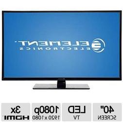 """Element 40"""" Class 1080p 120Hz LED TV - Black - ELEFT406"""
