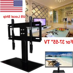"""For 37-55"""" Universal Tabletop Flat TV Stand W. Base LCD/LED"""