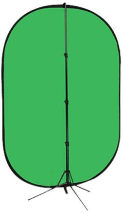 Fotodiox Pro Collapsible Background Kit - 5x7' Chromakey G