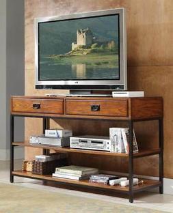 Home Style 5050-06 Modern Craftsman Media Console, Distresse