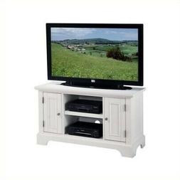 Home Styles  Naples TV Stand, White Finish