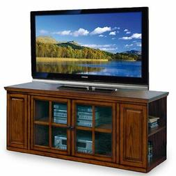 Leick Riley Holliday TV Stand, 62-Inch, Burnished Oak