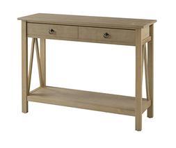 Linon Titian Rustic Gray Console Table