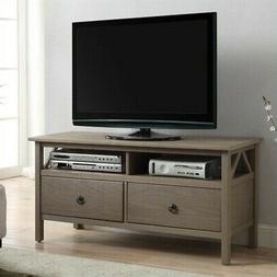 Linon Titian Rustic Gray TV Stand