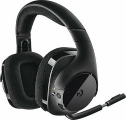 Logitech - G533 Elite Wireless Over-the-ear Headphones - Bla