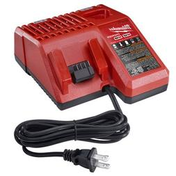 Milwaukee 48-59-1812 M12 and M18 Multi Voltage Charger, Red