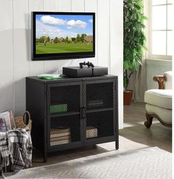 Modern Industrial Mini TV Stand Kids Bedroom Rustic Narrow S