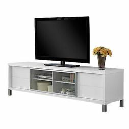 Monarch Specialties I 2537, TV Console, Euro Style, White, 7