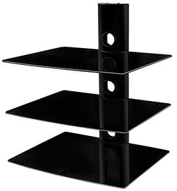 Mount-It! MI-803 Floating Wall Mounted Shelf Bracket Stand f