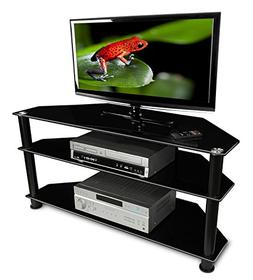 Mount-It! MI-852 Flat Screen LCD, LED, Plasma, TV Stand, Ent
