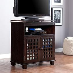 Southern Enterprises Narita Swivel Top Media Stand - Classic
