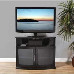 Plateau NEWPORT 40 B Corner Wood TV Stand, 40-Inch, Black Oa