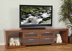 Plateau VALENCIA 5187 W Wood Expandable TV Stand, 51-Inch to