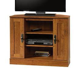 Sauder 404962 Harvest Mill Corner Entertainment Stand, For T