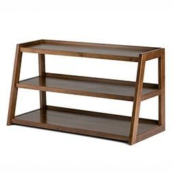Simpli Home 3AXCSAW-04 Sawhorse Solid Wood Modern Industrial