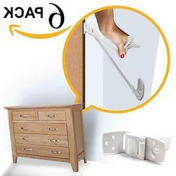 Skyla Homes - Furniture and TV Anti Tip Straps  | Adjustable