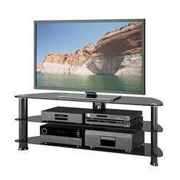 "Sonax by CorLiving Laguna 55"" TV Stand in Satin Black"