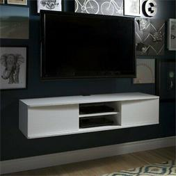 South Shore 9029676 Floating Wall Mounted Media Console, Pur