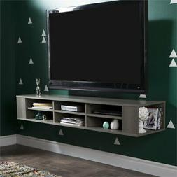 """South Shore City Life 66"""" Wall Mounted Media Console, Multip"""