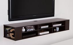 "South Shore City Life Wall Mounted Media Console - 66"" Wid"