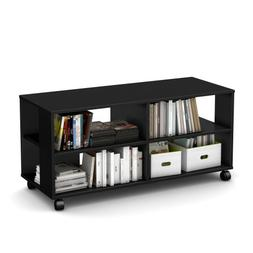 Jambory TV Stand Storage Unit on Casters - Fits TVs Up to 48