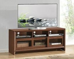 Techni Mobili Modern TV Stand with Media Storage for Upto 60