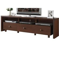 Techni Mobili Palma TV Stand with 3 Drawers, for TVs up to 7