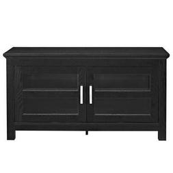 "Walker Edison 44"" Coronado TV Stand Console, Black"