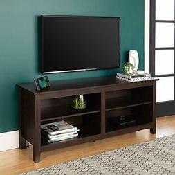 """Walker Edison - Tv Stand For Flat-panel Tvs Up To 60"""" - Brow"""