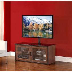 "Whalen Brown Closed Door 3-in-1 TV Stand for TVs up to 52"","