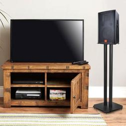 A Pair Metal Speaker Stands for Home Theater 5.1 Channel Sur