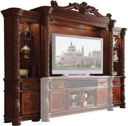 Acme Vendome II Entertainment Center in Cherry Finish 91315