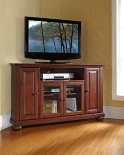 Crosley Furniture Alexandria 48-inch Corner TV Stand - Vinta