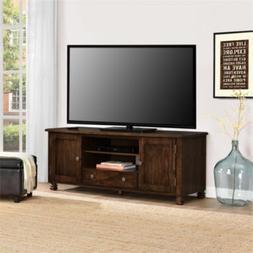 Altra San Antonio Wood Veneer TV Stand, Espresso
